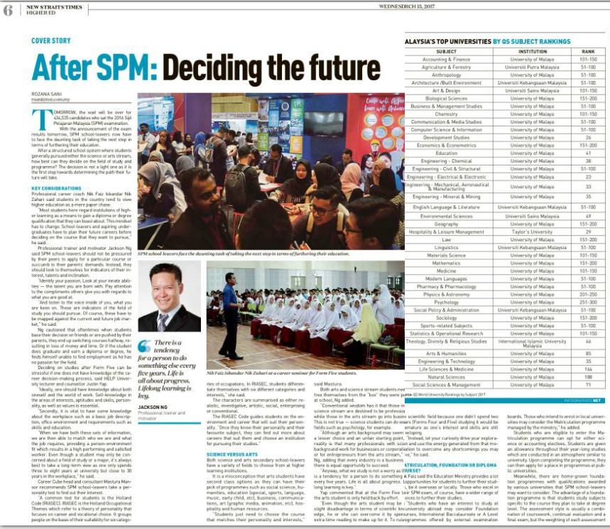 nik-faiz-career-expert-malaysia-lepasan-spm