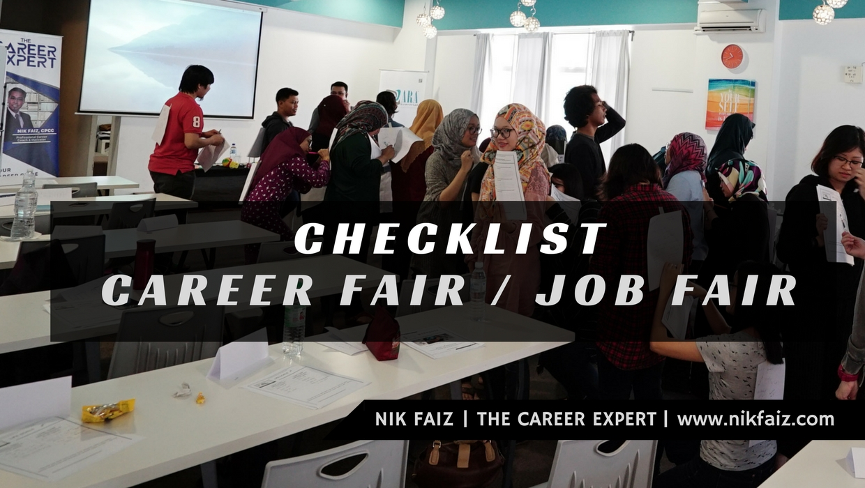 22 'Checklist' Hadir Ke Career Fair