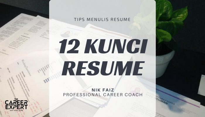 menulis resume berkualiti