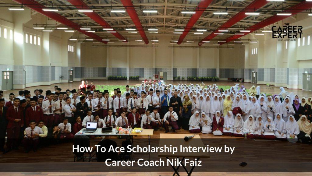 bengkel lulus temuduga biasiswa with nik faiz the career expert