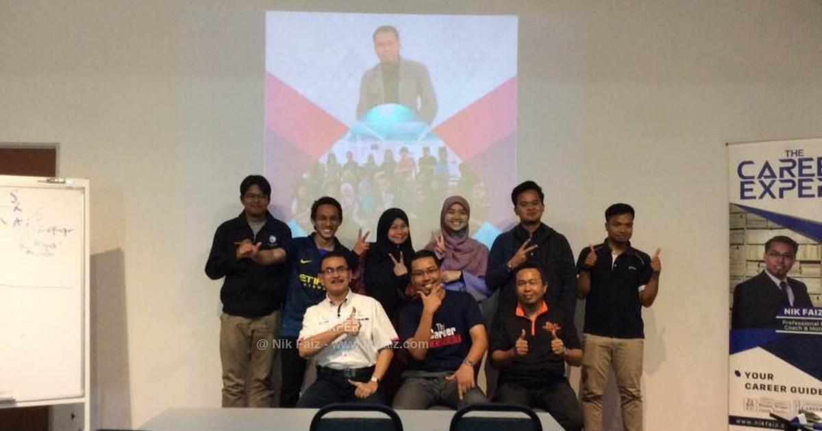 seminar kerjaya bersama nik faiz