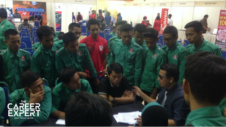 Career Expert di Karnival Jom Cari Kerja Johor