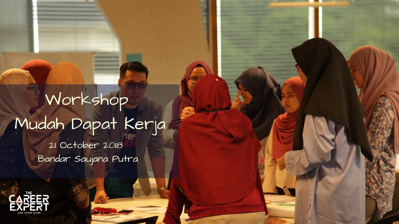 """Seminar Kerjaya 2018 by Nik Faiz """"Rahsia Mudah Dapat Kerja"""""""