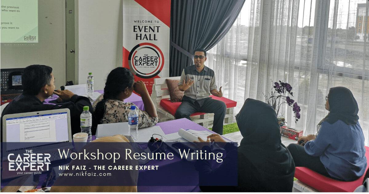 bengkel penulisan resume & temuduga by nik faiz