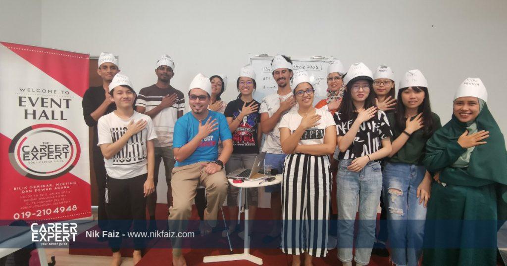global volunteer malaysia with nik faiz