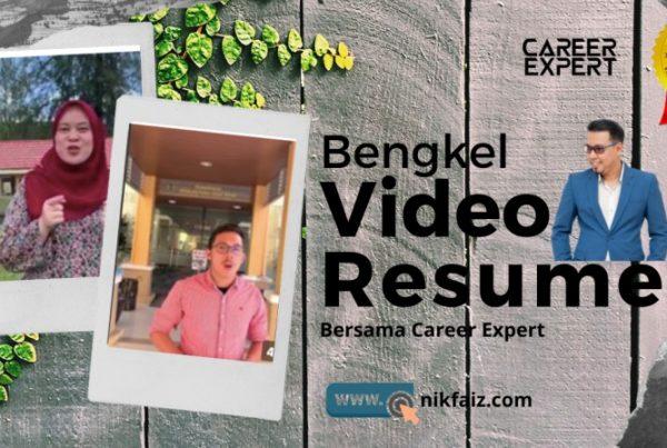 bengkel video resume